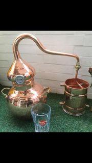 Riesige Kupfer Destille 5 Liter