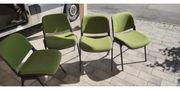 4 Retro Stühle