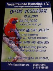Vogelbörse in Stromberg am 10