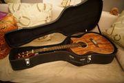 Wunderschöne Westerngitarre aus Koa-Holz