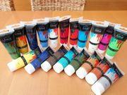 Acrylfarben inkl Pinsel