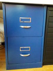 Bisley Hängeregistercontainer blau