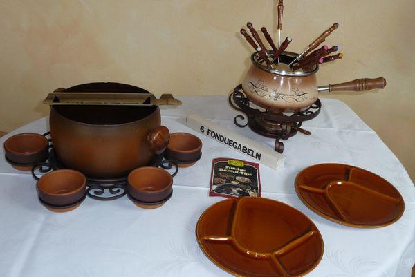 Feuerzangenbowle Fondue-Set