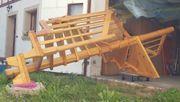 Massivholz-Spindeltreppe Kiefer