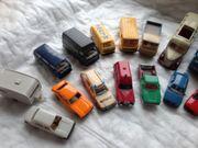 19 Wiking Modellautos und 3