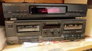 Technics Doble Cassetten Deck
