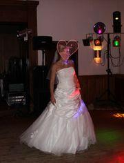 Wundervolles Brautkleid mit Reifrock und