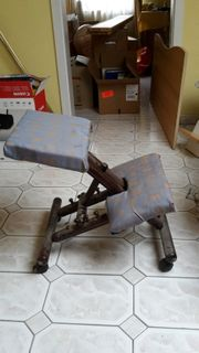 Kniestuhl höhenverstellbar