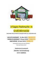3-Tages Flohmarkt in Groß Börnecke