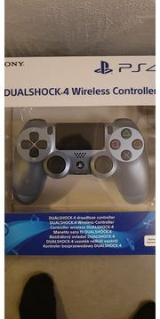PS4 Controller Titanium Blue NEU
