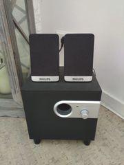 Philips Mini Boxen Anlage mit