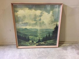 Kunst, Gemälde, Plastik - Öl-Gemälde Bilder Kunstdruck Relief
