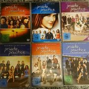DVDs Private Practice 1-6 komplette
