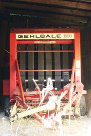 Variable Rundballenpresse Gehl 1500