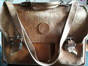 Aktentasche Lehrertasche Schultasche Ledertasche Vintage