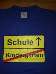 T-Shirt Schulanfänger Schulanfang Schule Kindergarten
