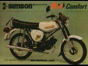Simson Papiere S51 Bj 1990