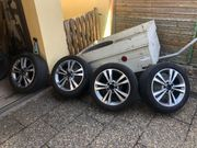 Mercedes 5 Doppelspeichen Aluräder Bicolor