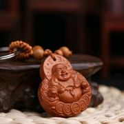 Glücksbuddha Anhänger Autoschlüssel Schlüsselanhänger aus