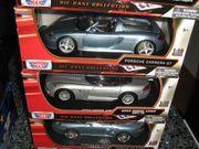 4 Modelautos 1 18 von