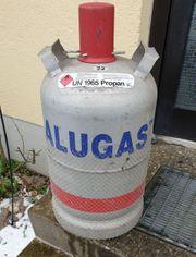 11 kg Alugas Flasche - leer