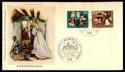 Esttagsbrief Briefmarken BRD Dornröschen
