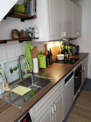 Küche inkl Induktionskochfeld Herd und