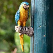 blauer Papagai Baumfigur Baumgucker Baumhänger