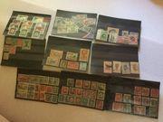 Briefmarken aus aller Welt zu