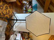 Blitzanlage für Canon Kameras Softbox
