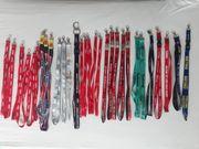 40 Schlüsselbänder aus Sammlerauflösung unbenutzt
