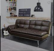 Neuwertiges 3-Sitzer-Sofa mit Schlaffunktion