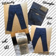 Wrangler Regular Fit Jeanshose blau -