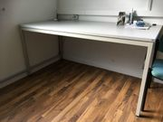 Schreibtisch Bürotisch Tisch leicht höhenverstellbar