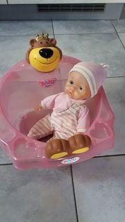 Baby Born Puppenbadewanne Topfchen und