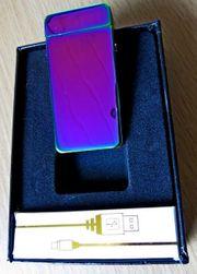 Lichtbogen -Feuerzeug neu mit USB-Ladekabel