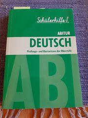 DEUTSCH - Prüfungs- und Basiswissen der