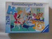 2 Disney-Puzzle je 20 Teile