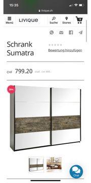 Spiegeltürenschrank Sumatra Lieferung