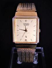 Citizen Square - Vintage Herren Armbanduhr