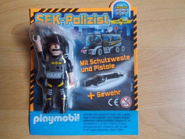 Playmobil Sek Polizist Limited Edition Neu In Edewecht