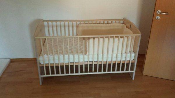Paidi Gitterbett Baby Bett inkl
