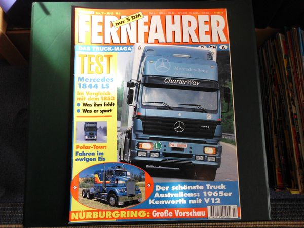 5 Fernfahrer Zeitschriften 1994 95