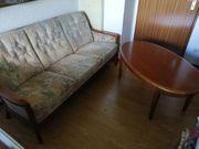 Couch mit Tisch gebraucht in
