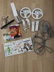Nintendo Wii Set 2 Lenkräder