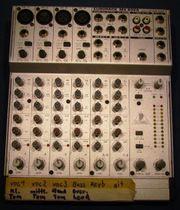 Beringer 8 Kanal-Stereo-Mixer Eurorack MX