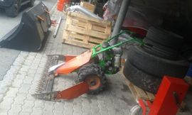 Traktoren, Landwirtschaftliche Fahrzeuge - Motormäher Agria 5400