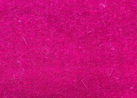 Handarbeit, Basteln - Stoffrest Jersey rosa mit Angoraoptik