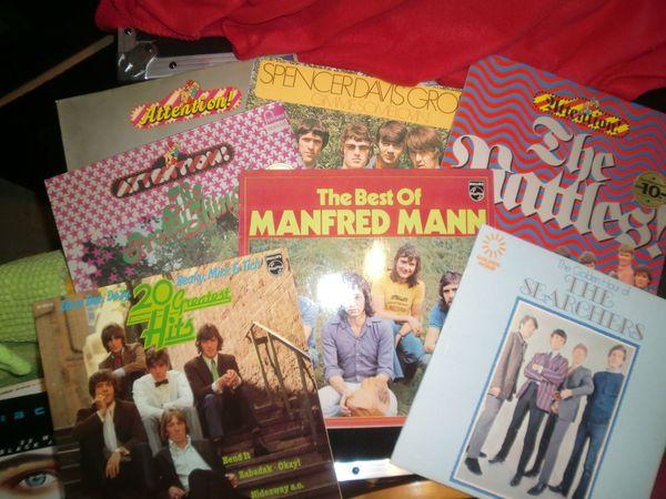 LP MAXI Singles Sammlung zu