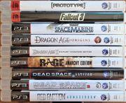 9 PS3-Spiele